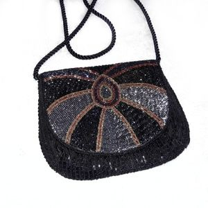 Handbags - Unique Vintage Beaded Handbag